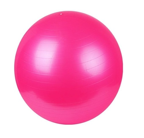 บอลโยคะ สีชมพู ขนาด 65 ซม.